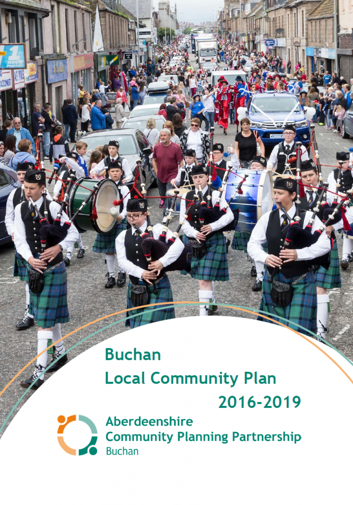 Buchan Local Community Plan 2016-2019 Front Cover