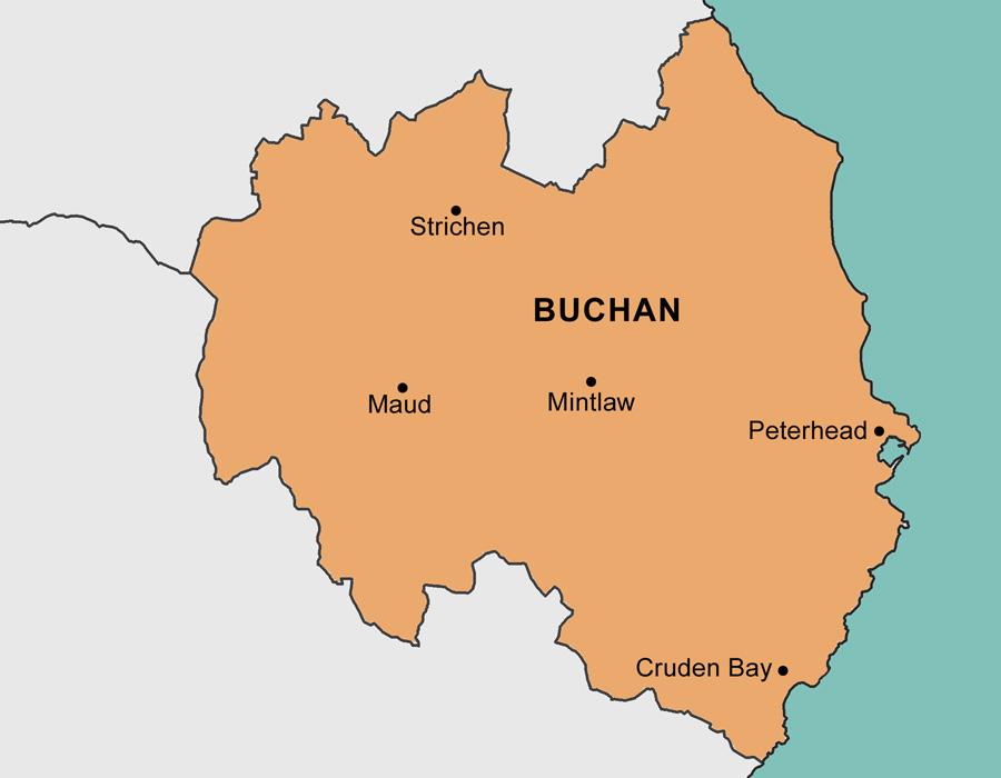Buchan Area Map