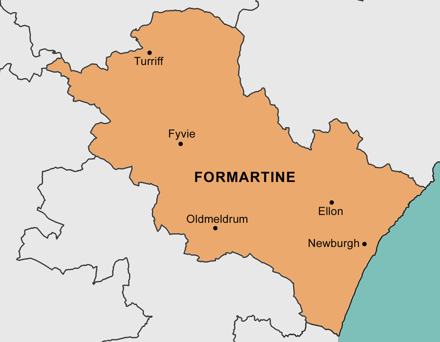 Formartine Area Map